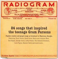 Radiogram: 24 Songs That Inspired Gram Parsons by Various Artists (CD, May-2010, Righteous)