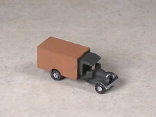 Z Scale 1928 Ford Brown Box Delivery Truck