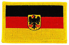 FLAG PATCH PATCHES Germany Eagle ww2  IRON ON COUNTRY EMBROIDERED WORLD SMALL