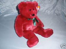 1998   Ty Beanie Buddies               Cranberry Teddy Bear  ( 14  inches )