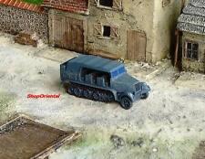 WW2 1:144 Scale Wargame Diorama German SdKfz 7 Half Track Vehicle Model NMT_426x