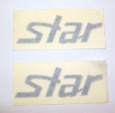 FIAT PUNTO STAR/ KIT ADESIVI ESTERNI BLU ARGENTO/ BLUE LATERAL STICKERS SET