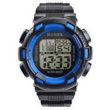 Fashion Mens Digital Watches  LED Analog Quartz Alarm Date Sports Wrist Watch