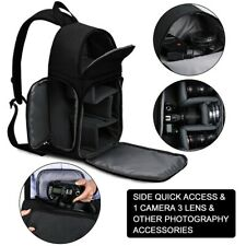 Waterproof DSLR Camera Backpack Shoulder Bag Compact Photograph For Nikon/Canon