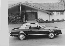 Ford Mustang Ghia (Reino Unido problema) Press Photo & comunicado de prensa 1974 de agosto de 1973 para