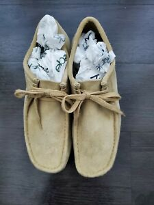 Clarks Wallabee Boot Men Size 9 Maple Suede