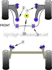 Powerflex inferior enginemount LG Bush para Seat Ibiza 6L 6J Diesel 02-15 PFF85-620R