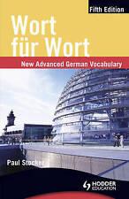 Wort fur Wort: New Advanced German Vocabulary (German Edition) by Paul Stocker