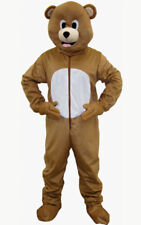 Dress up America Bear Mascot Brown Adult One Size 593-adult 086138914204