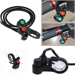 """1x Horn Turn Signal Indicator Light On/Off Switch For 7/8"""" Motorcycle Handlebar"""
