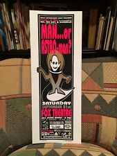 MAN….OR ASTRO-MAN? - BOULDER, CO Sept. 21  2000 - CRYPTOGRAPHICS Poster 75/200
