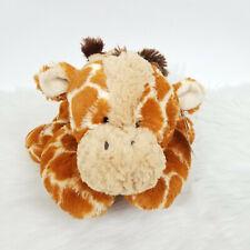 "Tushies Giraffe Plush Stuffed Animal Super Soft Toy 10"" By Aurora"