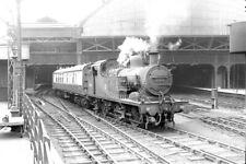 PHOTO BR British Railways Steam Locomotive Class 2P-C 41907 at Manchester