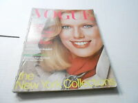 SEPT 1976 VOGUE fashion magazine