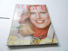SEPT 1976 VOGUE fashion magazine