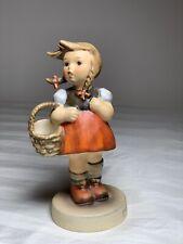 New ListingGoebel Hummel #96 Little Shopper 4.5in Girl with Basket Figurine