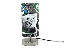 Graffiti Skate Park Skateboard Lamp Night Light lampshade Boys Bedroom Bedside