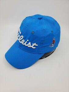 New Titleist Hat Cap Adjustable Strap