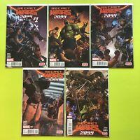 Secret Wars: Secret Wars 2099 #1-5 Marvel NM 9.4