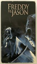 Freddy Vs. Jason Rare & Oop Horror Movie Original New Line Home Video Vhs
