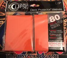 Magic: the Gathering 80 ultra pro maletero eclipse Orange sleeves/fundas