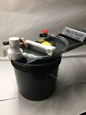 Black Magic Fine Gold Recovery System - Mini Bucket Recirculator Sands- Sluice