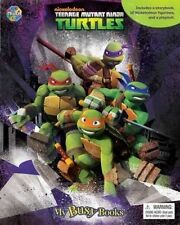 Teenage Mutant Ninja Turtles My Busy Book With TMNT Book 12 Figurines and Playm