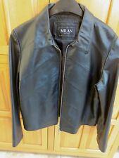 Ladies Milan Leather Jacket Size 16