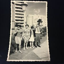 Mid Century Family In The City 3x5 Picture Eams Era Excellent 1967 Germany