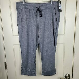 Under Armour Women's Heatgear Joggers Cropped Heather Gray Size: XL - NEW