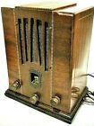 Westone Deco all wood Super Simplex 5 tube radio stunning condition ca-1934 LQQK
