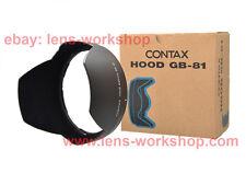 CONTAX N1 NX N Digital Carl Zeiss Vario Sonnar 24-85mm f/3.5-4.5 GB-81 Lens Hood