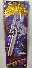 Rare 1978 Estes Viper Battlestar Galactica 1318 Flying Model Rocketry Box Parts