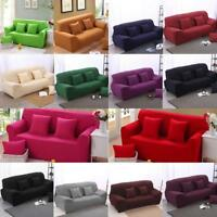 STRETCH ELASTIC FIT FABRIC SOFA / SETTEE SLIP COVER - 2 Seater Sofa Couch Cover