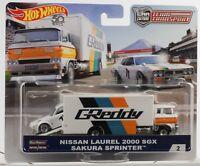 1:64 shop team transport Nissan Laurel 2000 SGX Sakura sprinter Hot wheels