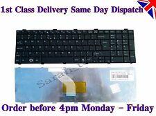 New Fujitsu Lifebook AH512 S26391-F167-B225 UK Layout Laptop Keyboard Black