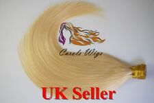 "18""1g Col 613 Stick/I-Tip 100% Indian Premier Remy Human Hair Extensions 6A* 1st"