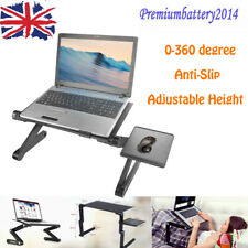 Portable Folding Laptop Desk PC Notebook Table Stand Tray For Bed Sofa