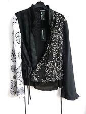 *** ANN DEMEULEMEESTER Luxus Jacke F42 (M /D42), mit Stickerei, NP €1.375,--