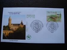 FRANCE - enveloppe 1er jour 7/11/2003 (luxembourg le pont adolphe) (B1) french