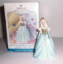 1999 Barbie Cinderella from Childrens Collector Series Ornament Hallmark