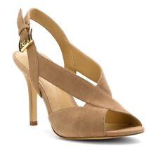 Michael Kors Womens Becky Sandal Suede Open Toe 9.5M
