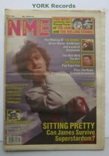 NEW MUSICAL EXPRESS NME - April 6 1991 - James / The Doors / Vic Reeves