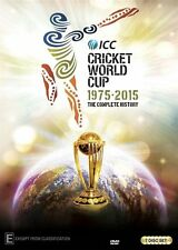 History Of The World Cup Cricket (DVD, 2015, 7-Disc Set)