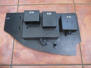 INDY RACE CAR LOLA CARBON FIBER PI RESEARCH ELECTRONICS DATA BOX CRADLE HOLDER