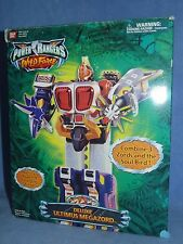 Power Rangers Wild Force ULTIMUS Megazord MINT IN BOX