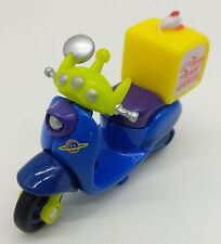 TOMICA ChimChim Toy Story Aliens pizza planet toy scooter motorbike auto bike tw