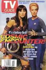 TV GUIDE - XENA WARRIOR PRINCESS - LUCY LAWLESS & JERI RYAN COVER - APRIL 1999