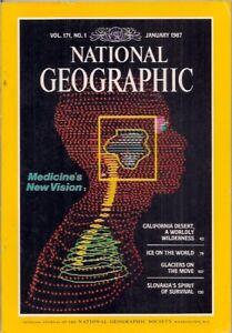 national geographic-JAN 1987-MEDICAL VISION.