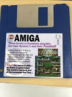 CU Amiga Magazine Cover Disk 20 Fuzzball H-Ball  TESTED WORKING